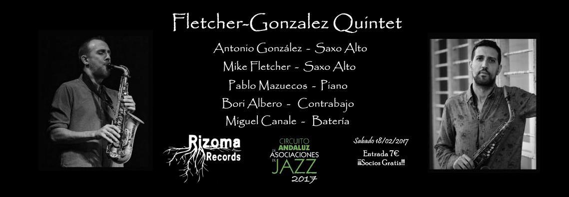 (18/02/2017) FLETCHER – GONZALEZ QUINTET